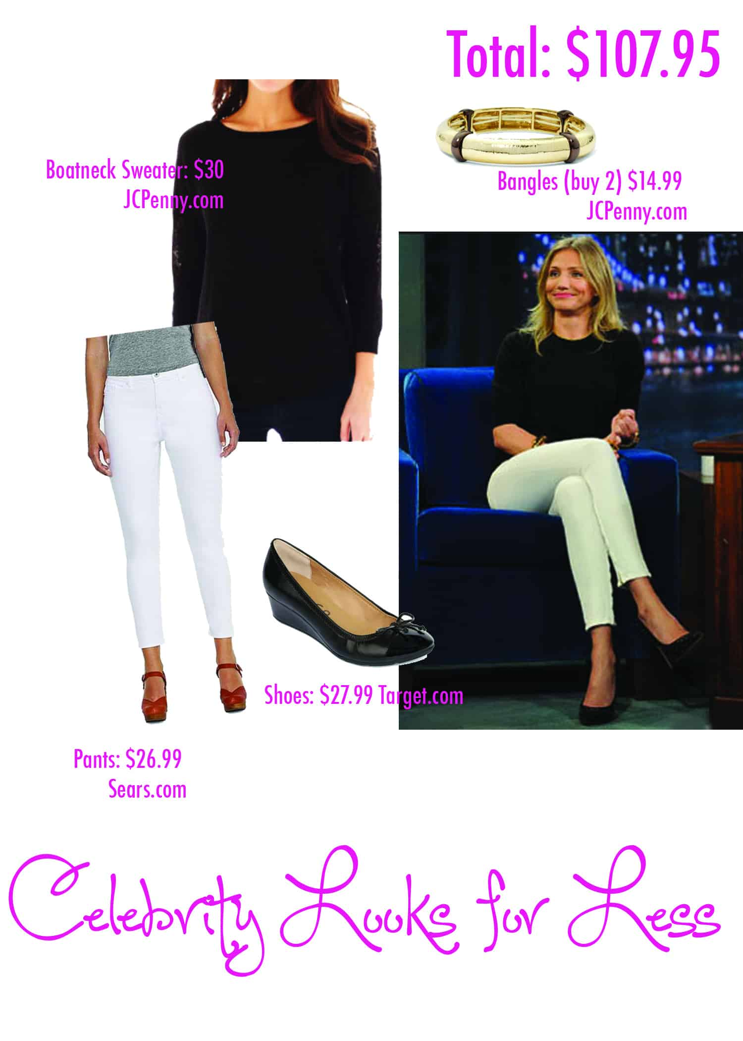Celebrity Look for Less: Cameron Diaz