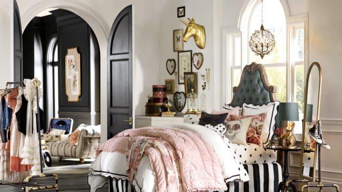 Dream Big With These Bedroom Ideas: E+M Parisian Headboard Room